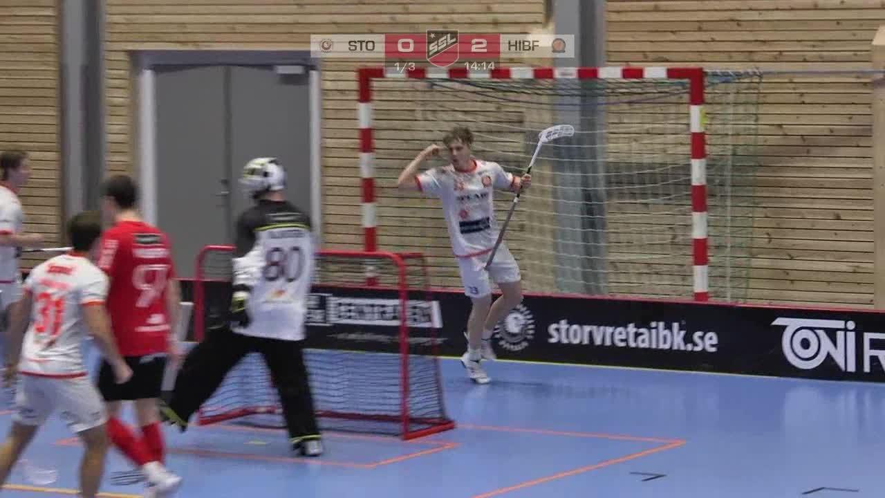 Highlights: Storvreta IBK - Höllvikens IBF