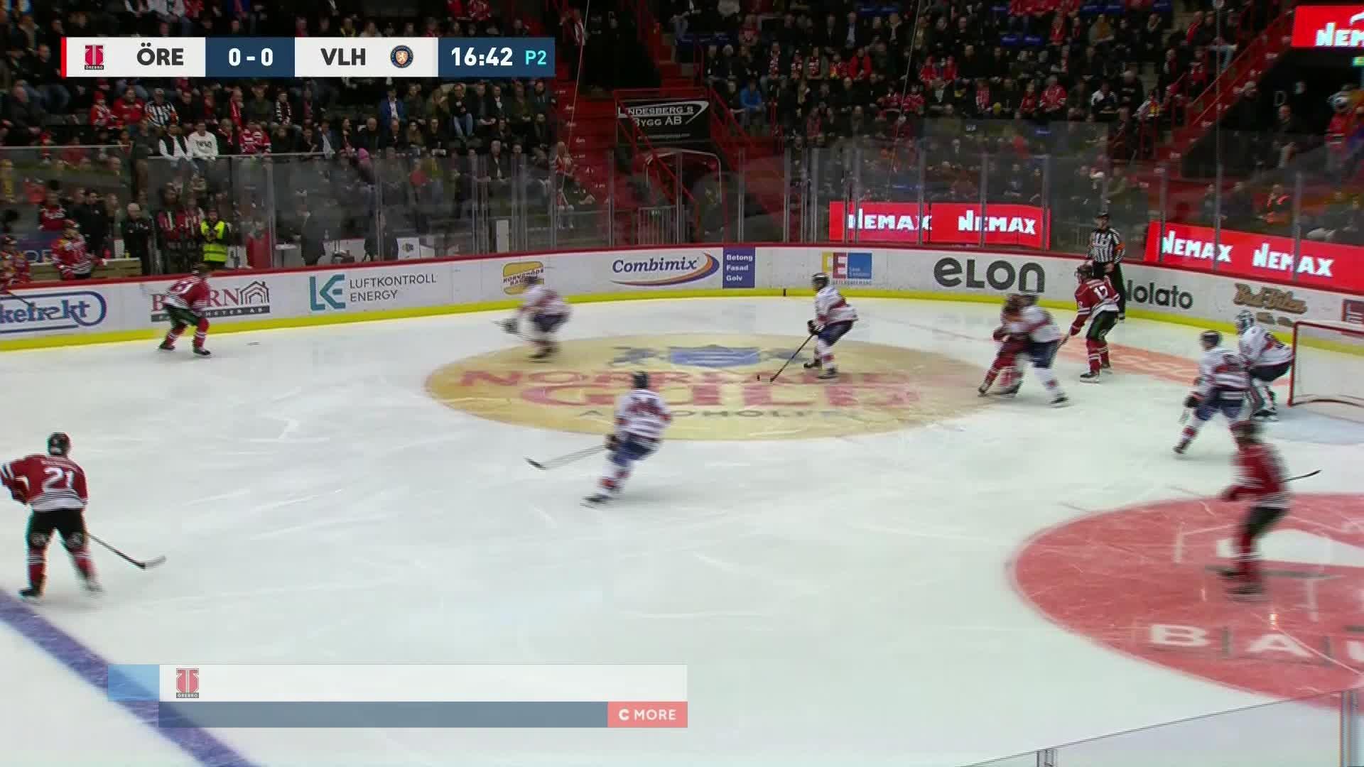 Örebro Hockey - Växjö Lakers 1-0