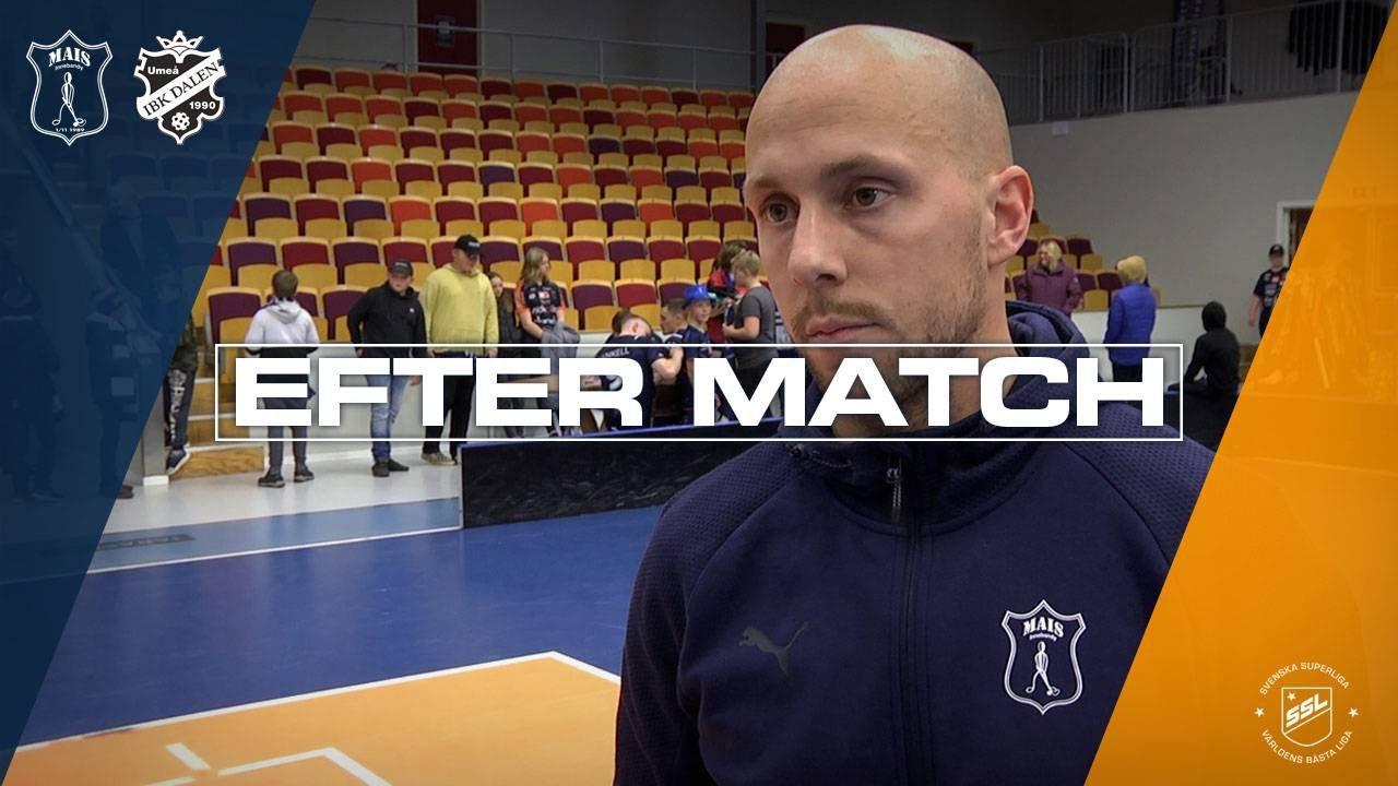 Bergström efter segern mot IBK Dalen | Omgång 5