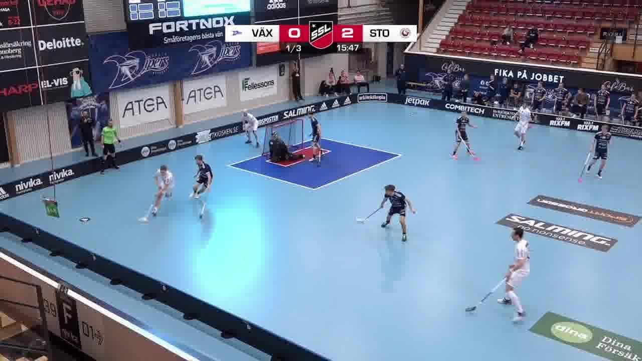 Highlights: Växjö Vipers-Storvreta IBK