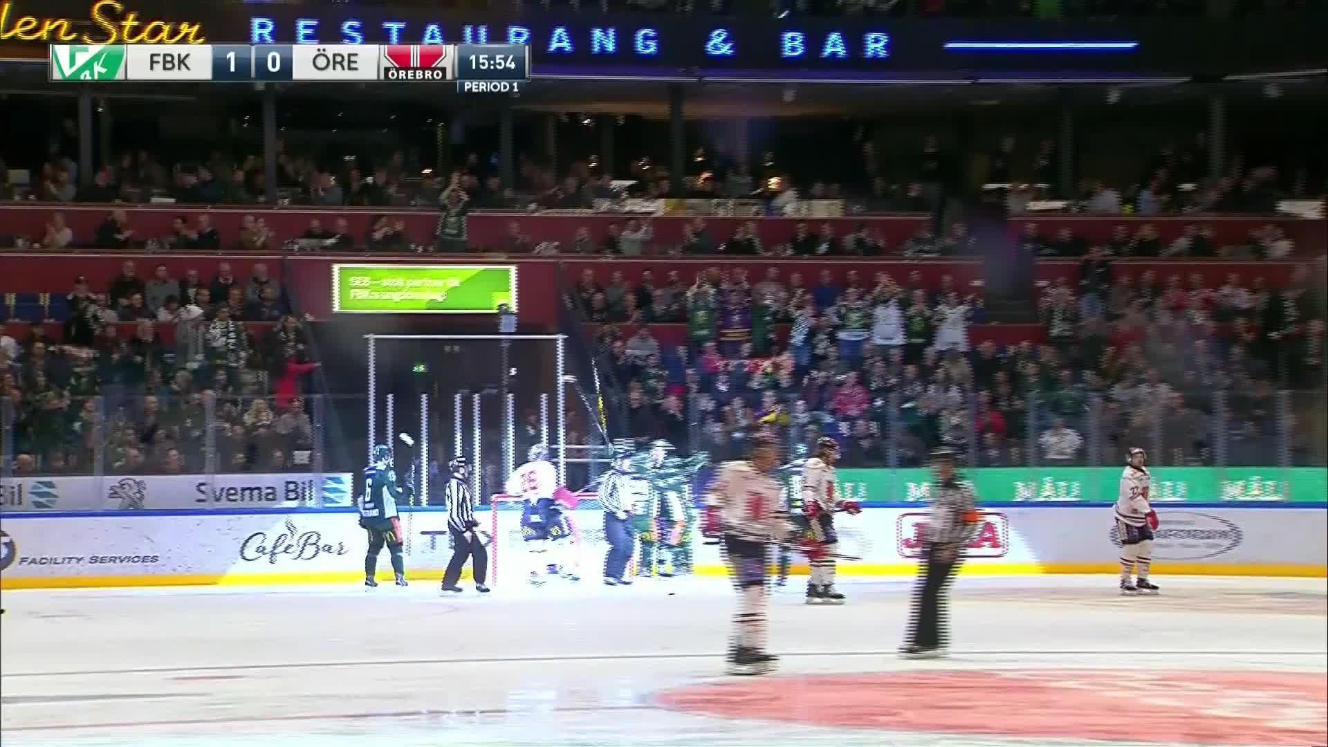 Färjestad BK - Örebro Hockey 1-0
