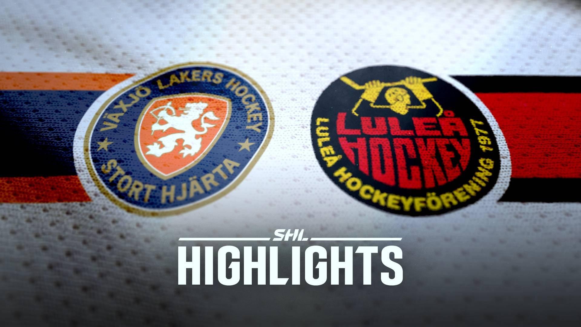 Växjö Lakers - Luleå Hockey