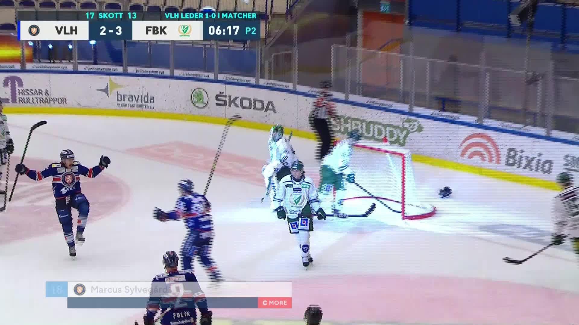 Växjö Lakers - Färjestad BK 3-3
