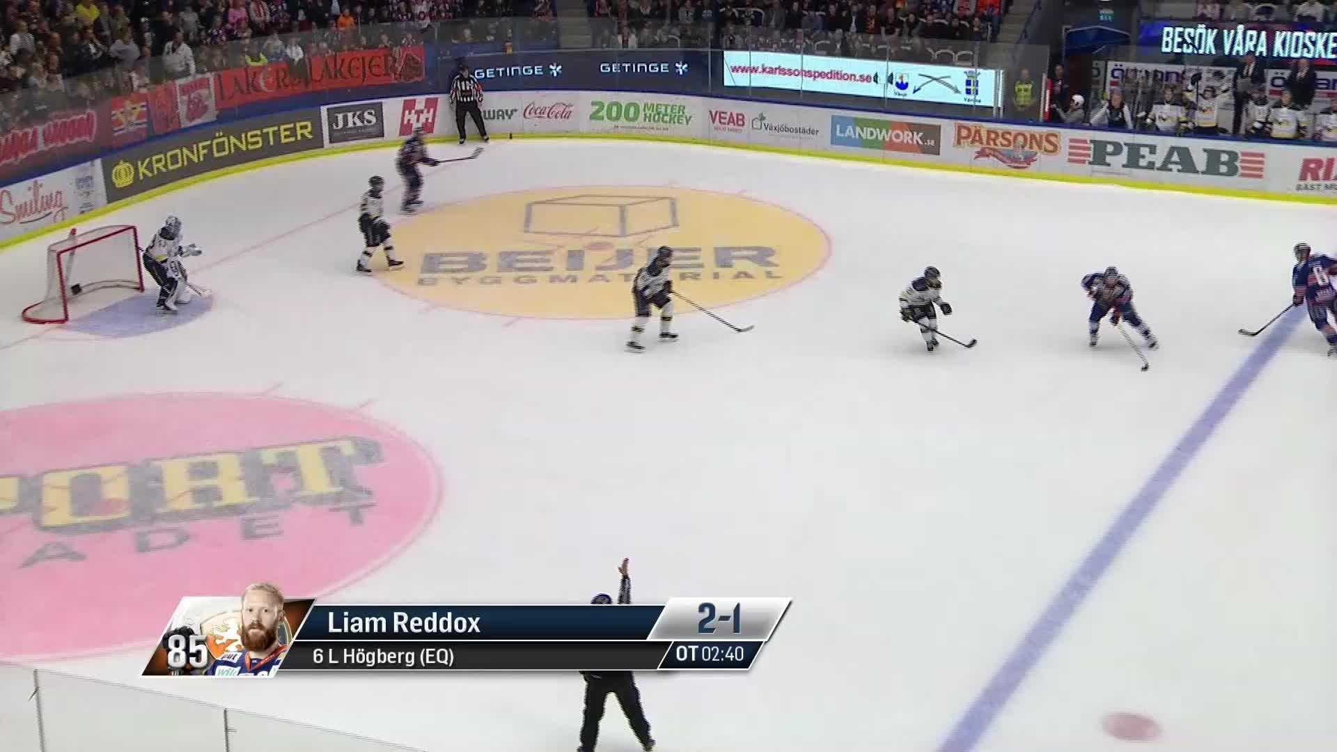Växjö Lakers - HV71 2-1