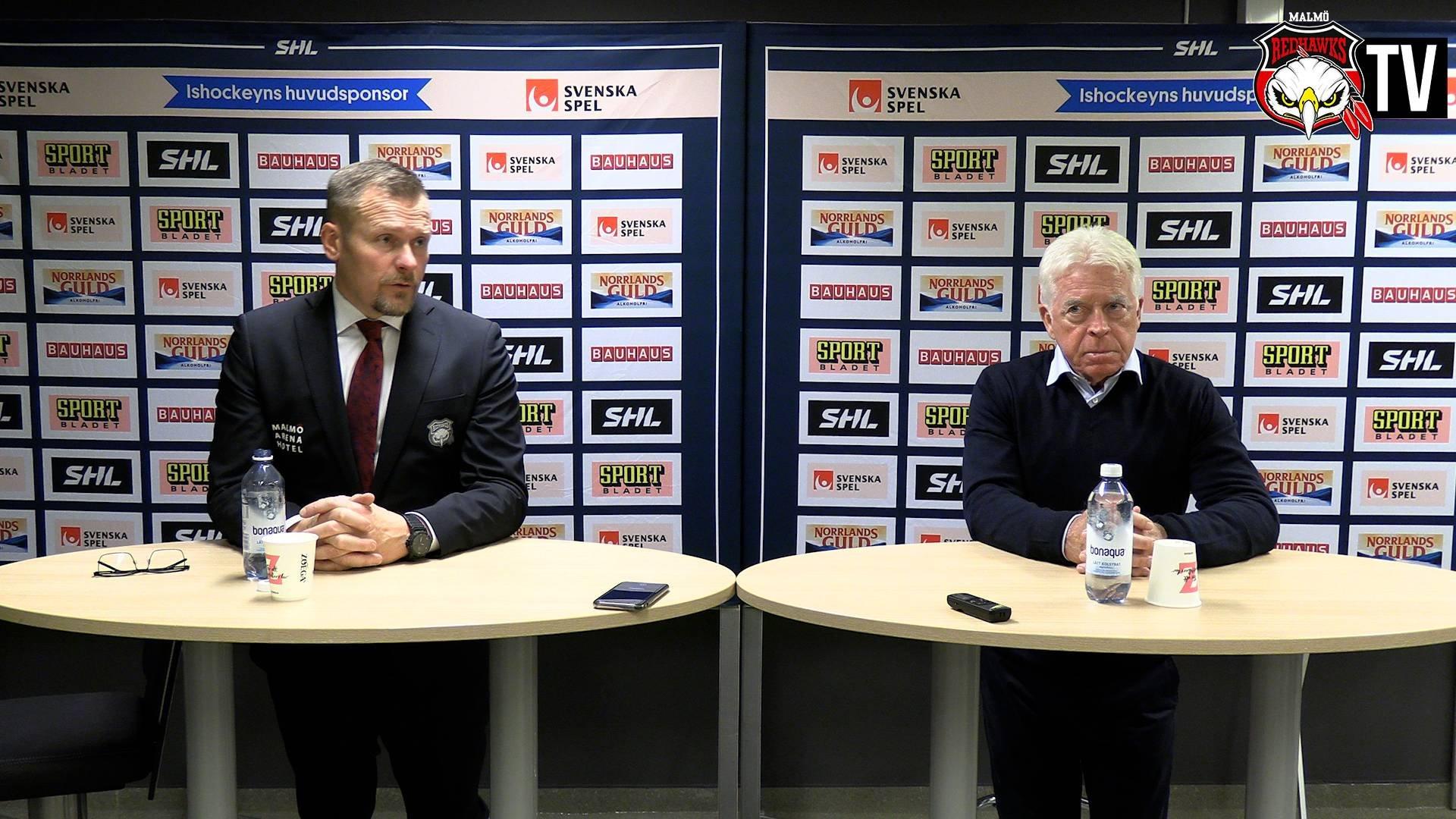 Presskonferens Malmö - Djurgården