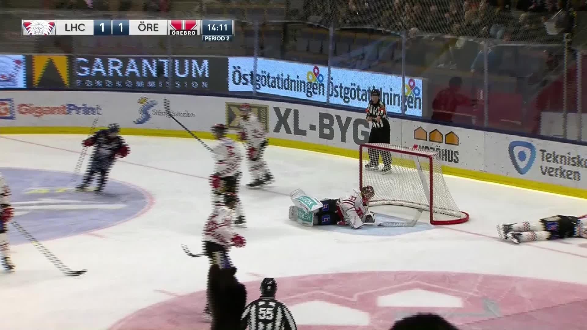 Linköping HC - Örebro Hockey 2-1