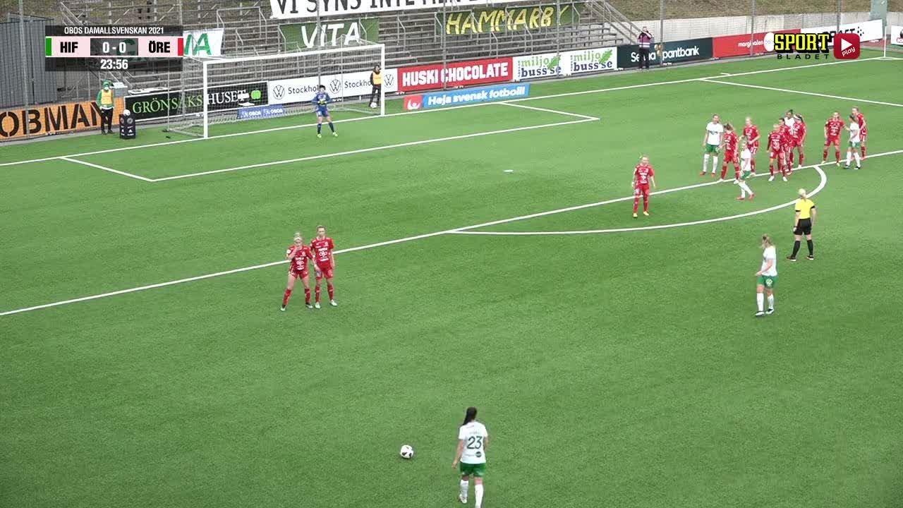 Highlights: Hammarby Fotboll - KIF Örebro DFF