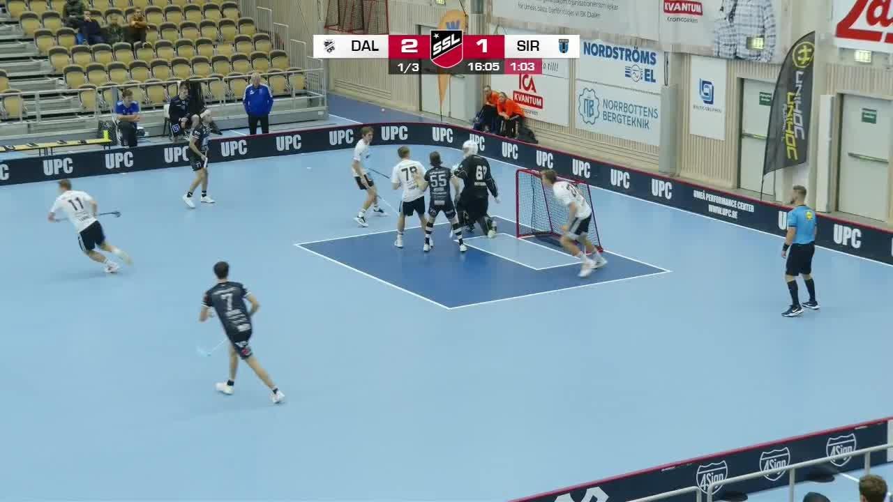Highlights: IBK Dalen-Sirius Innebandy