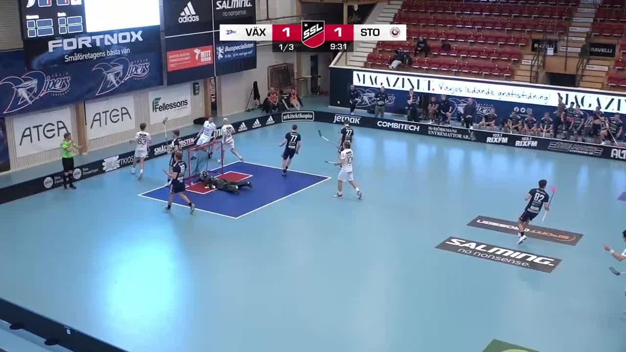Highlights: Växjö Vipers - Storvreta IBK