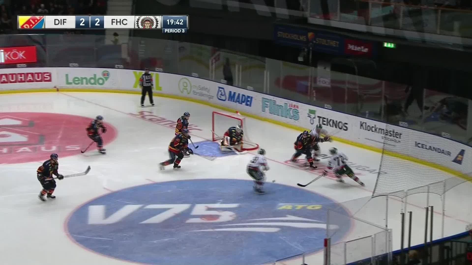Djurgården Hockey - Frölunda HC 2-3