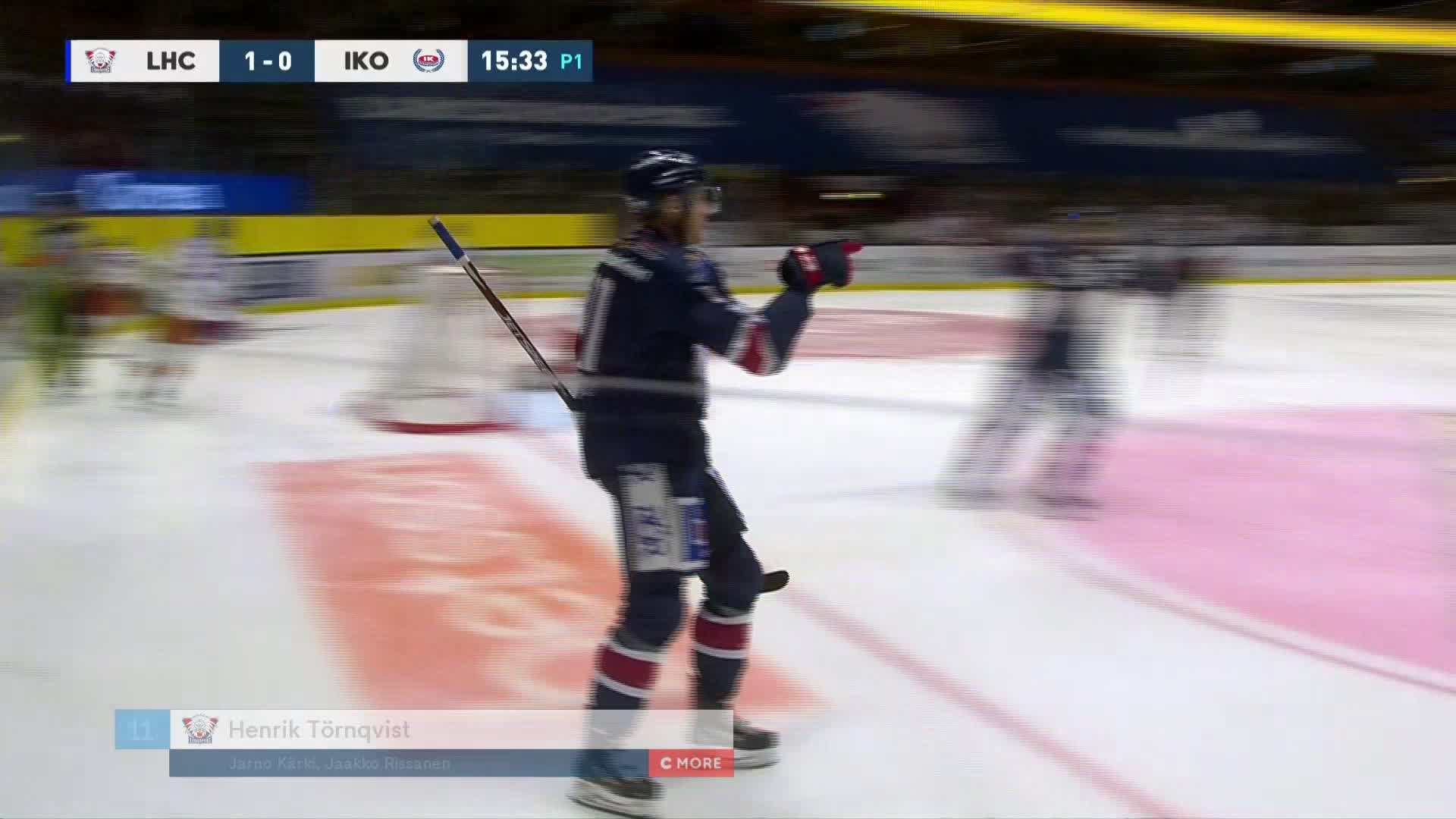 Linköping HC - IK Oskarshamn 1-0
