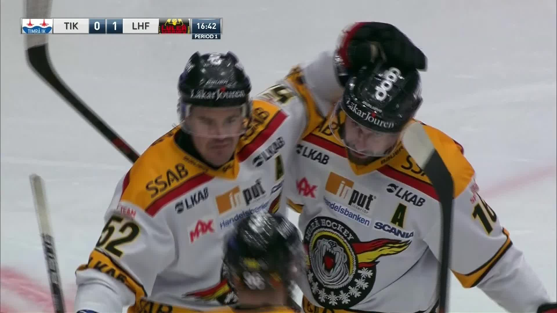 Timrå IK - Luleå Hockey 0-1