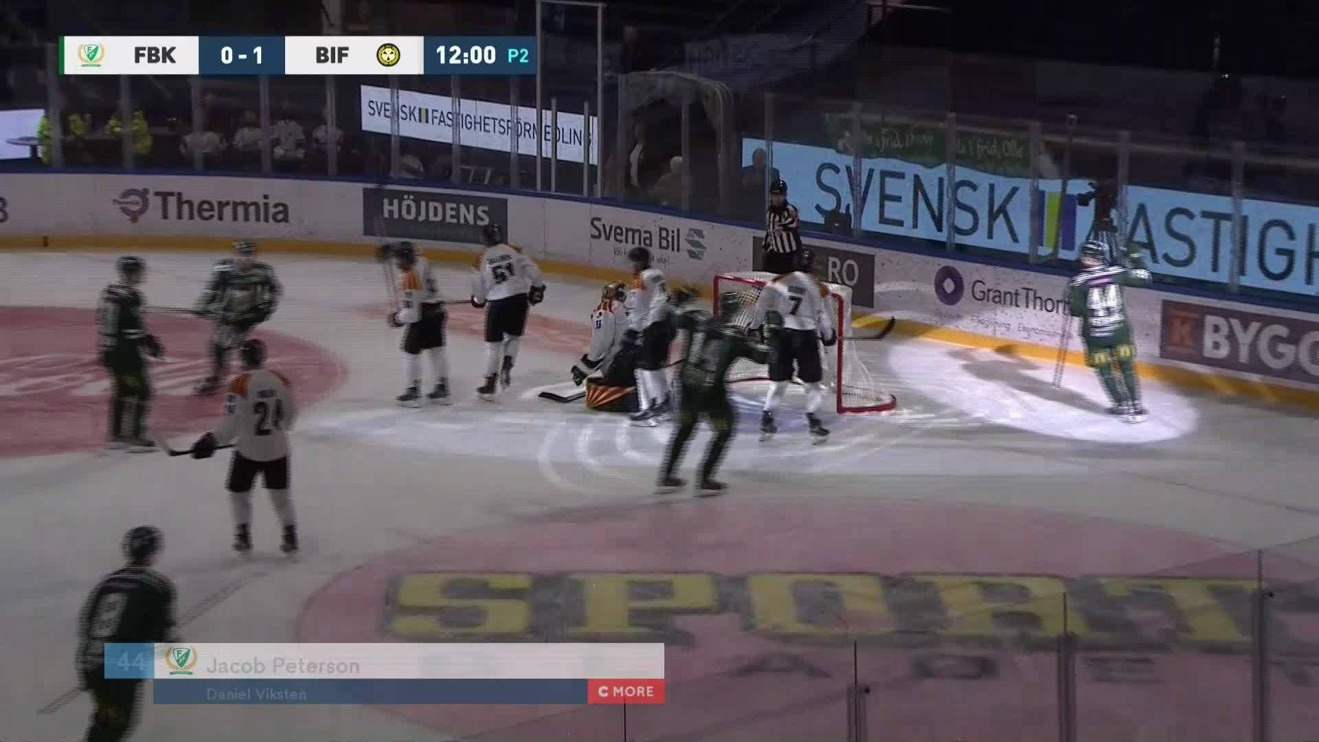 Färjestad BK - Brynäs IF 1-1