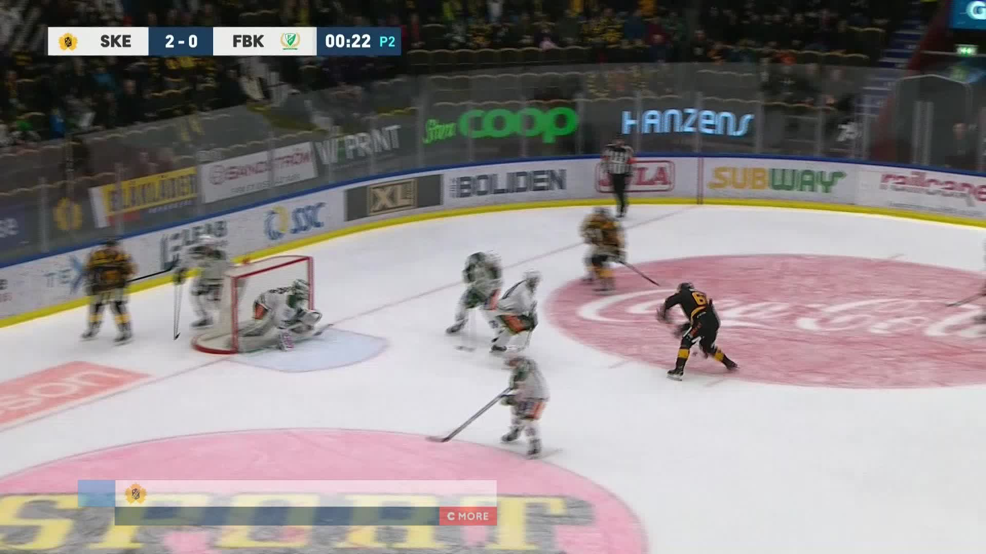 Skellefteå AIK - Färjestad BK 3-0