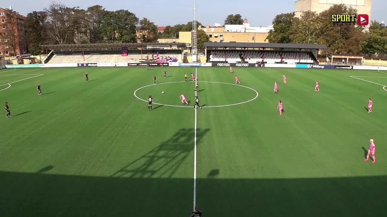 Highlights: Rosengård - Umeå 27 sept