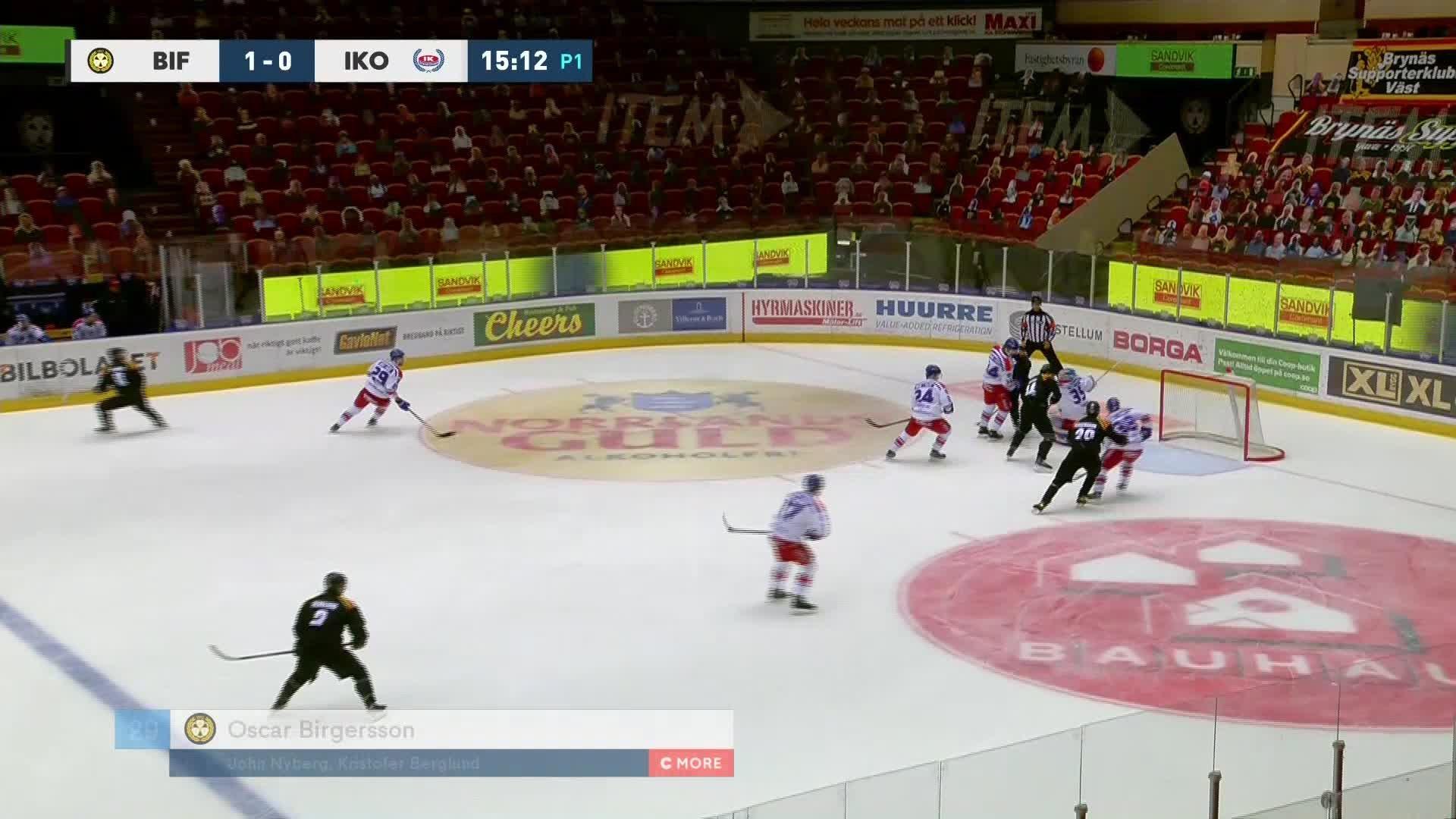 Brynäs IF - IK Oskarshamn 2-0