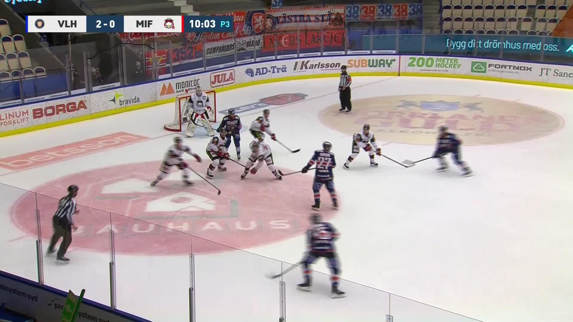 Växjö Lakers - Malmö Redhawks 3-0