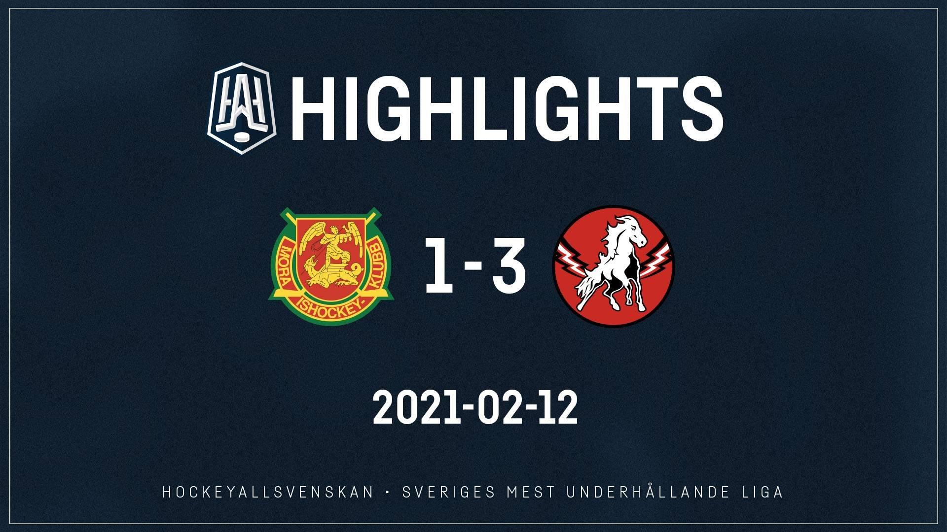2021-02-12 Mora - Vita Hästen 1-3