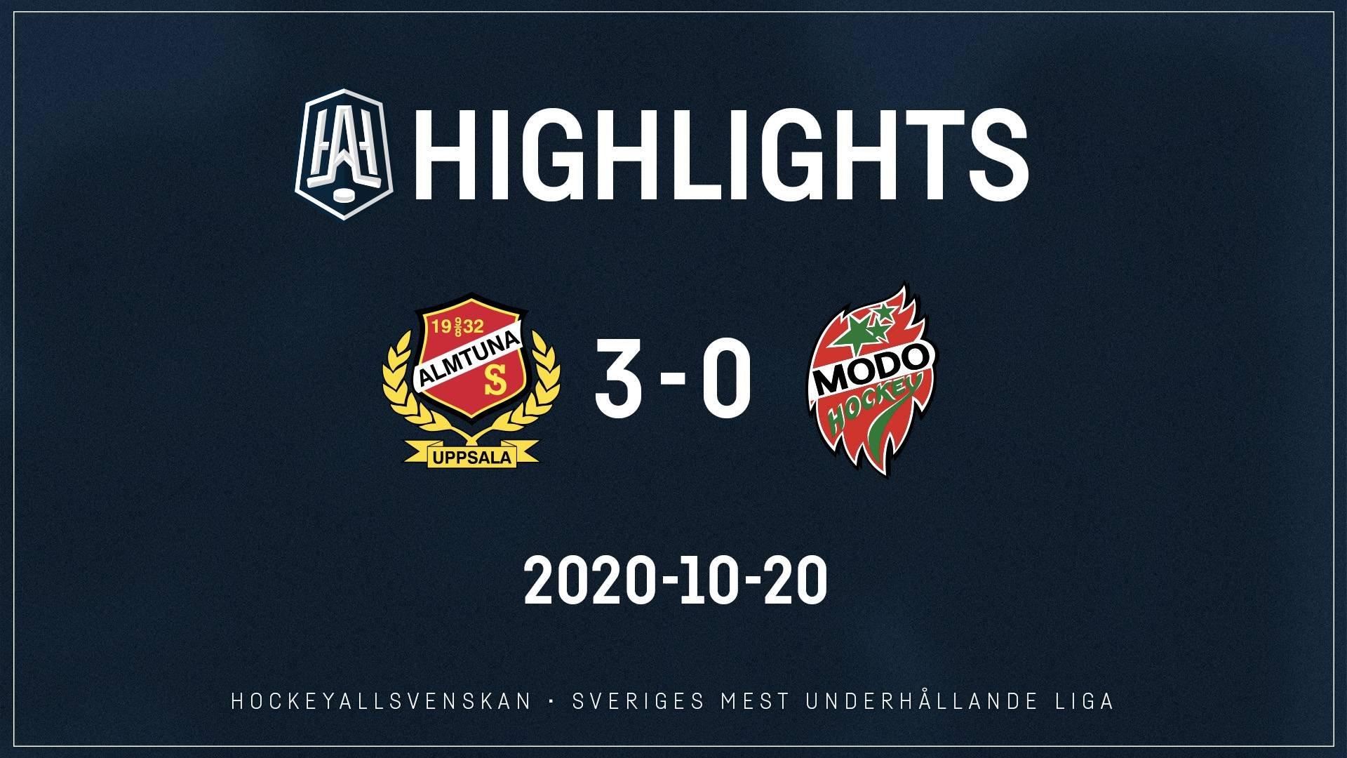 2020-10-20 Almtuna - MODO 3-0