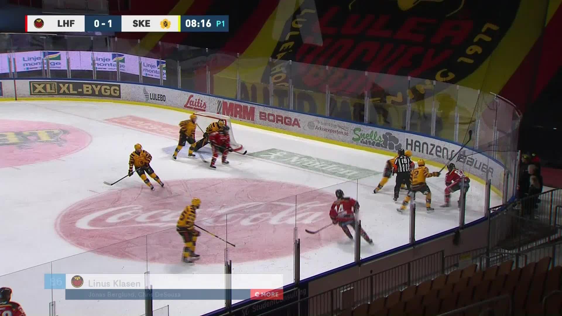 Luleå Hockey - Skellefteå AIK 1-1