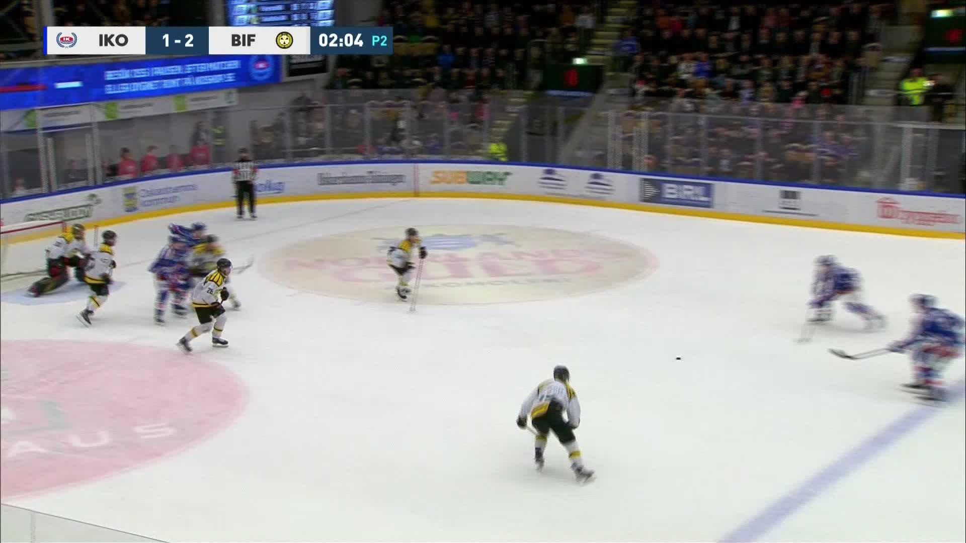 IK Oskarshamn - Brynäs IF 2-2