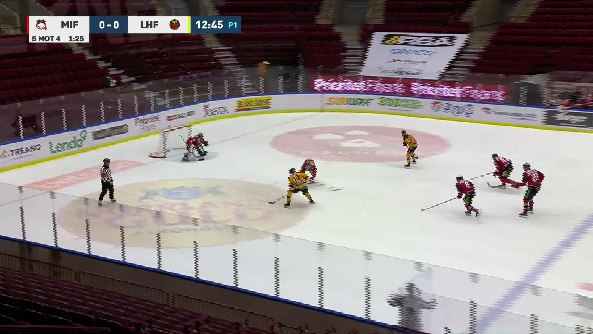 Malmö Redhawks - Luleå Hockey 0-1
