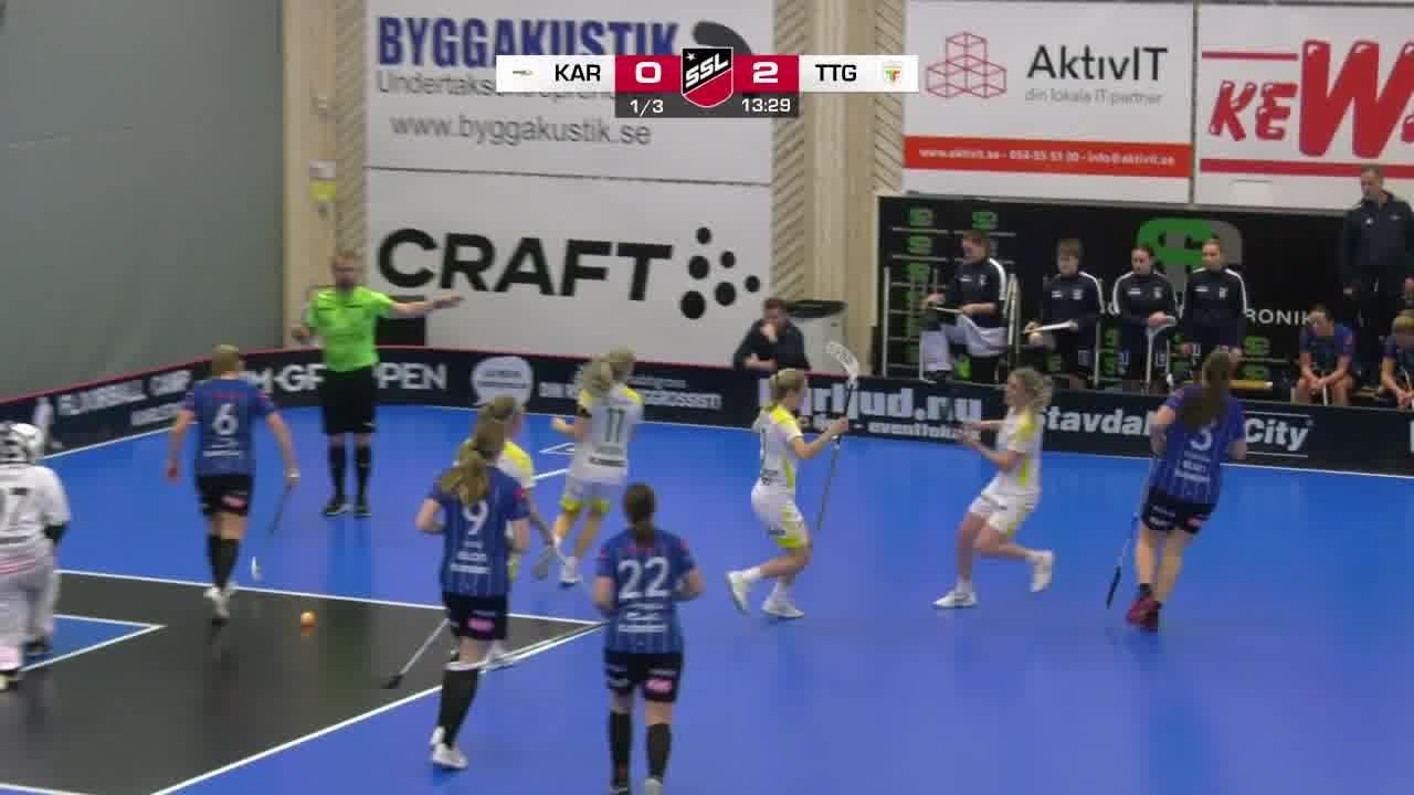Highlights: Karlstad Innebandy - Team Thorengruppen
