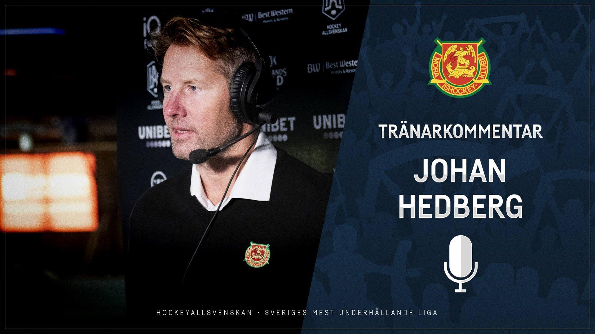 2020-10-14 Segerintervju: Johan Hedberg, Mora