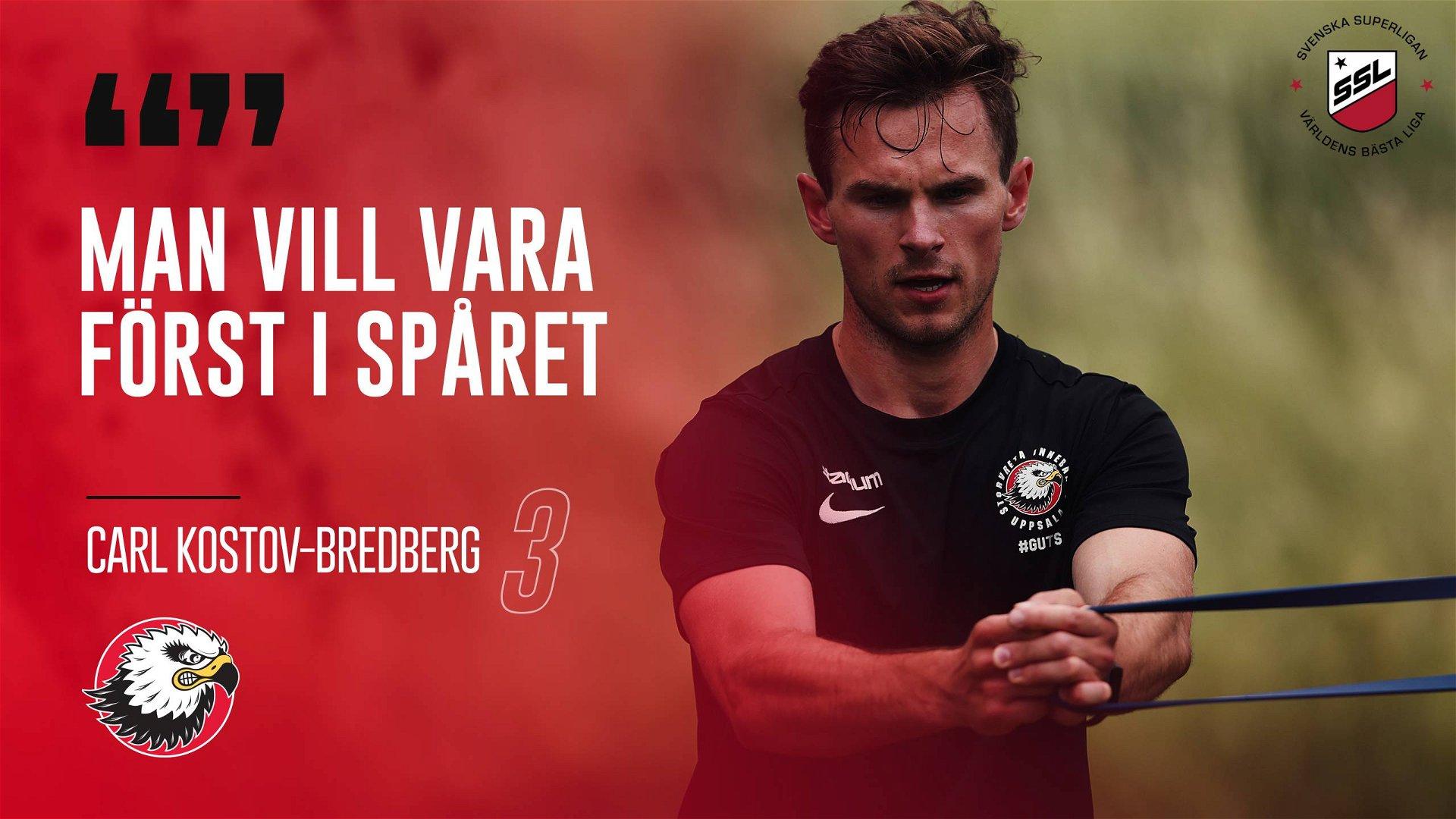 """Carl Kostov-Bredberg """"Gick vinnande ut striden"""""""