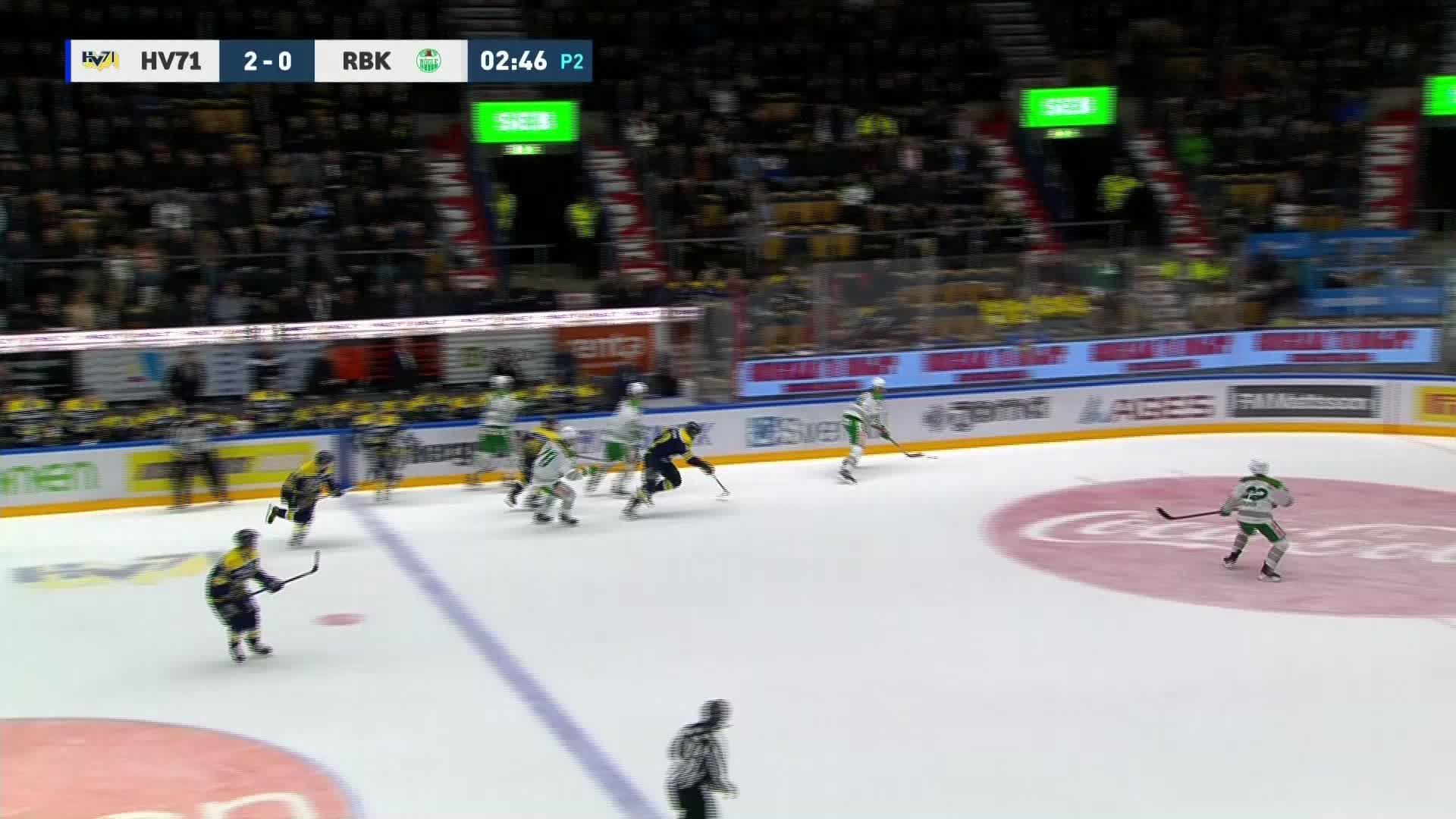 HV71 - Rögle BK 3-0