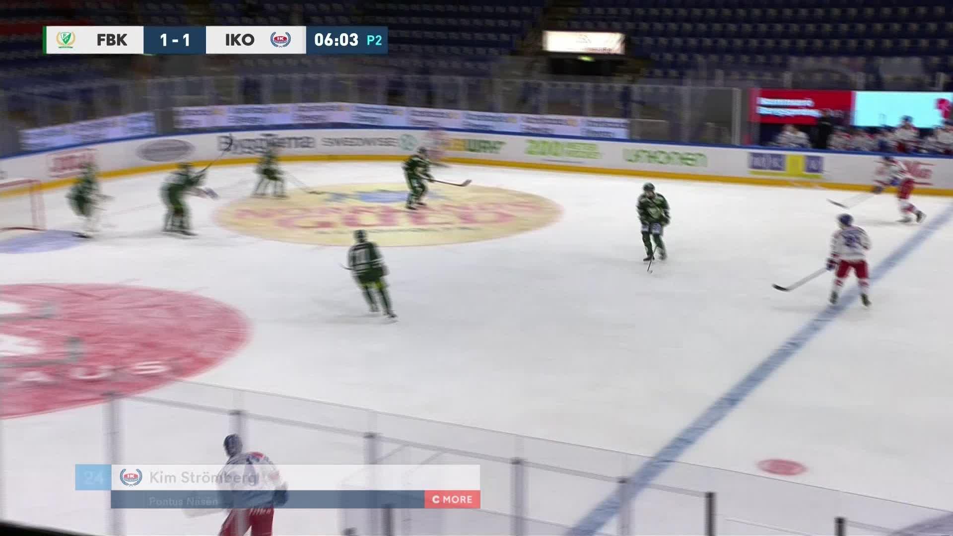 Färjestad BK - IK Oskarshamn 1-2