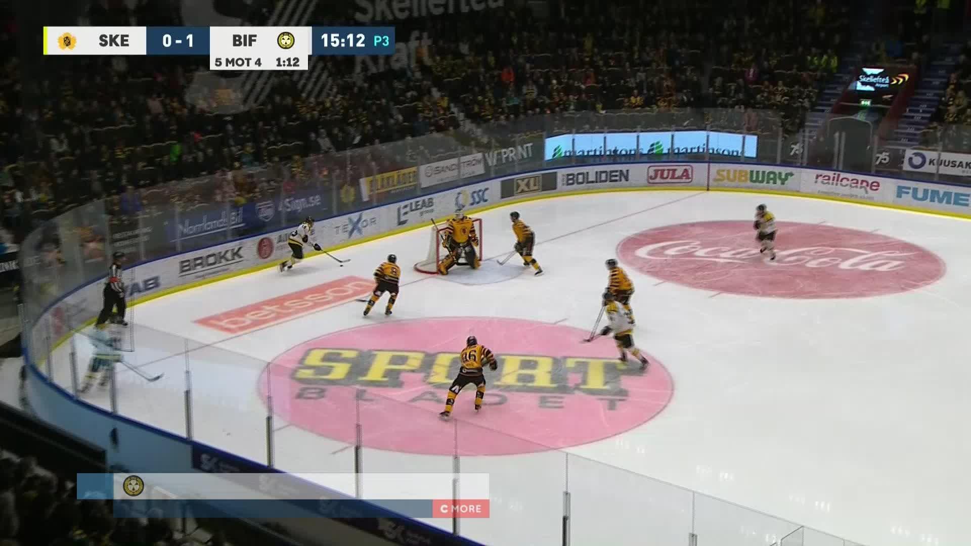 Skellefteå AIK - Brynäs IF 0-2