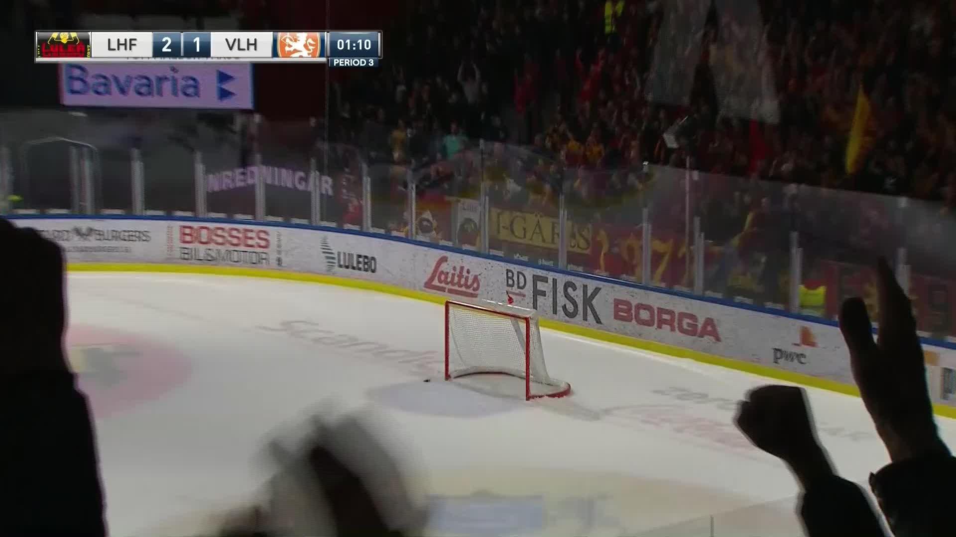 Luleå Hockey - Växjö Lakers 3-1