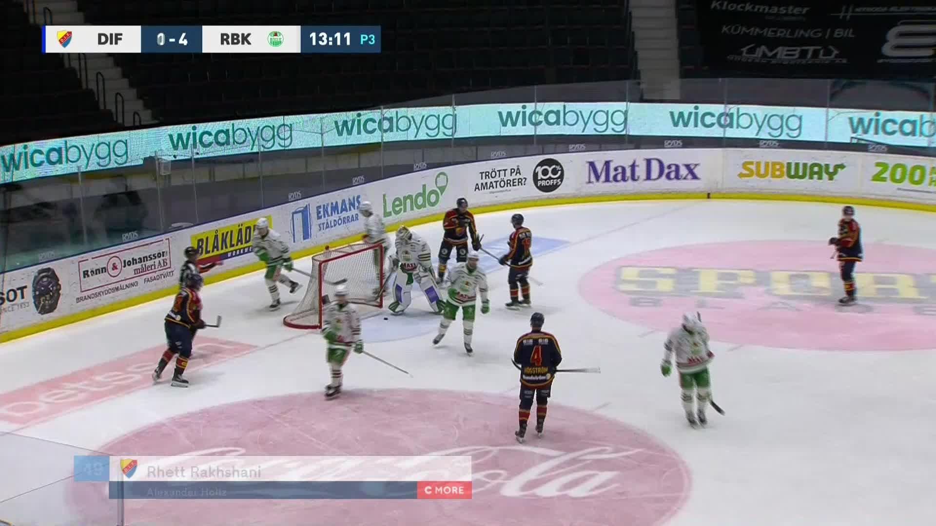 Djurgården Hockey - Rögle BK 1-4