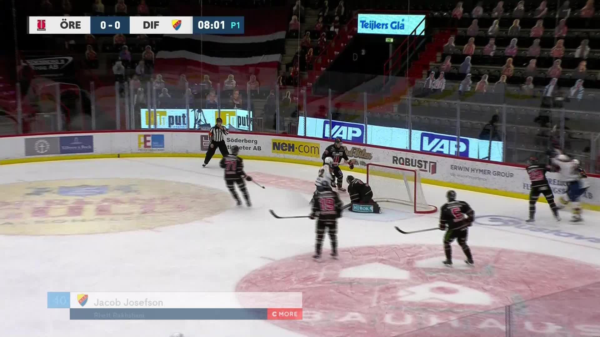 Örebro Hockey - Djurgården Hockey 0-1