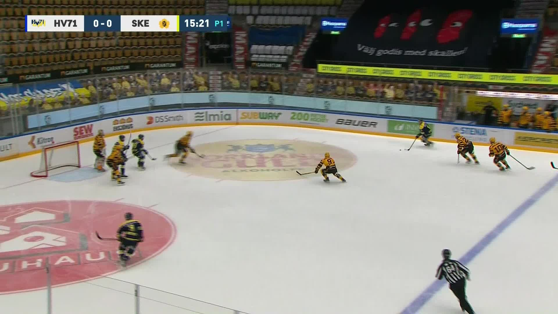 HV71 - Skellefteå AIK 1-0