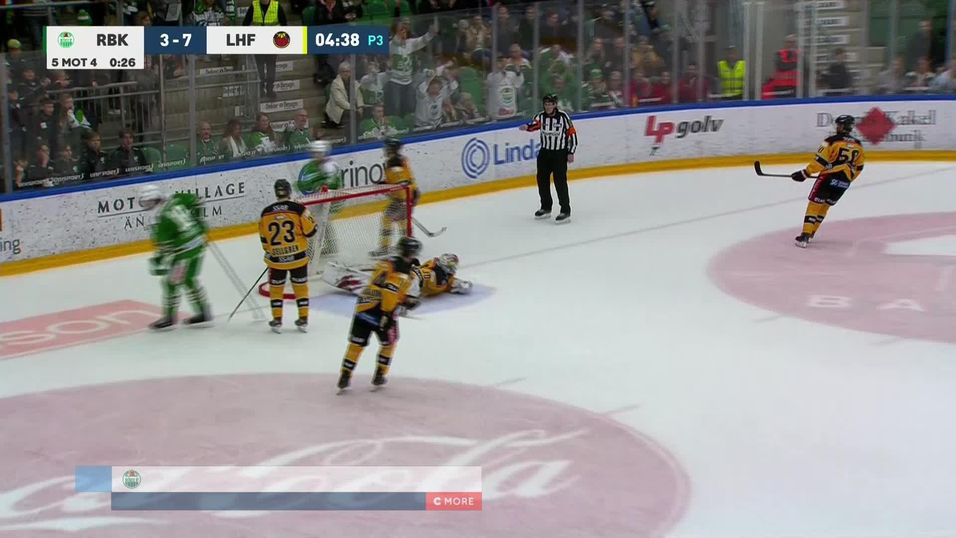 Rögle BK - Luleå Hockey 4-7