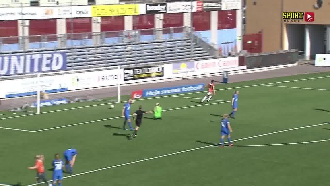 Highlights: Eskilstunda united - Kristianstads DFF