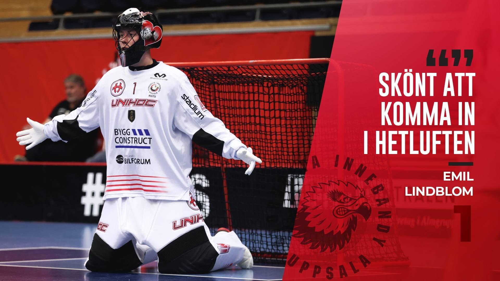 """Emil Lindblom """"Skön match att vinna"""""""