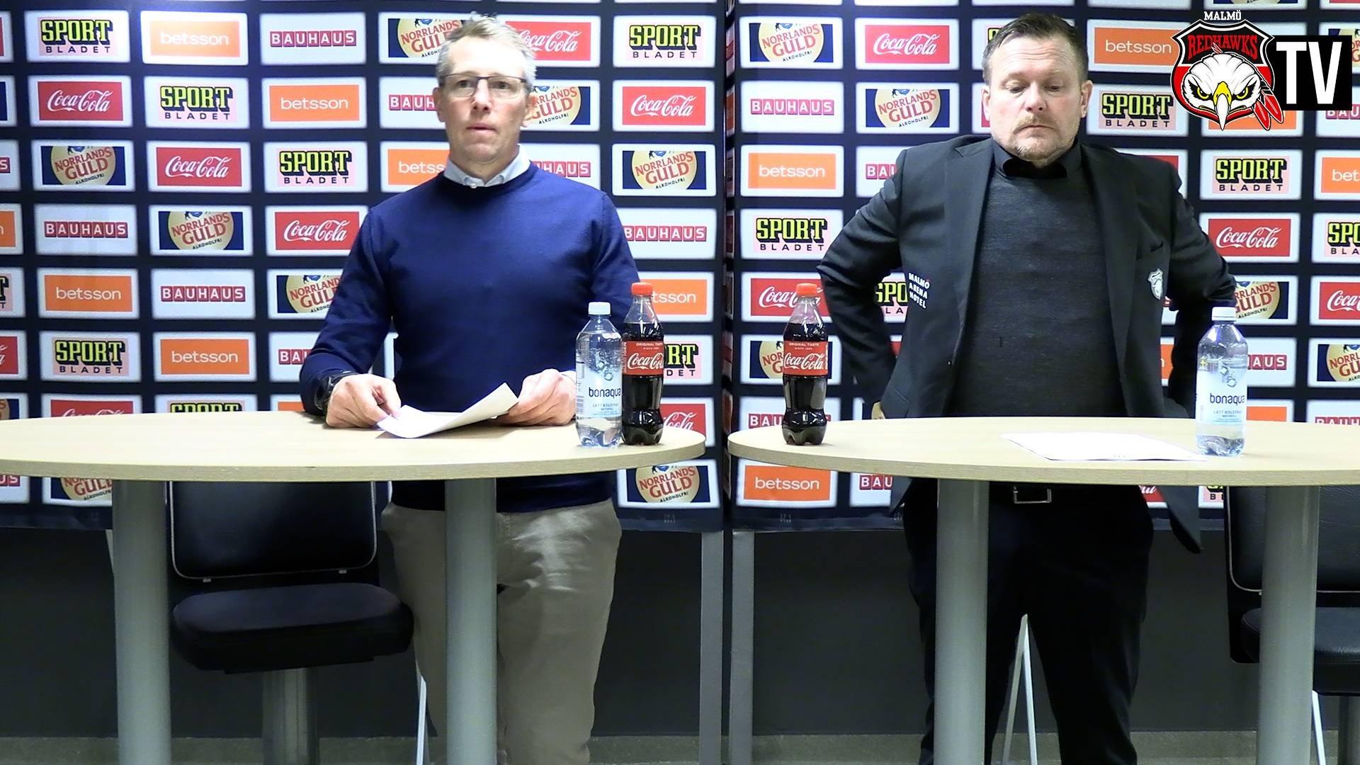 Presskonferens Malmö - Linköping
