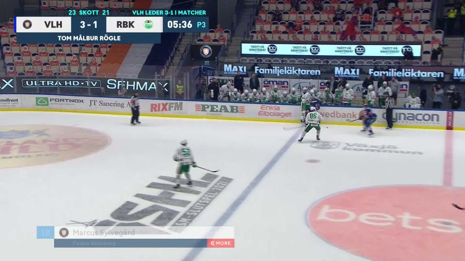 Växjö Lakers - Rögle BK 4-1