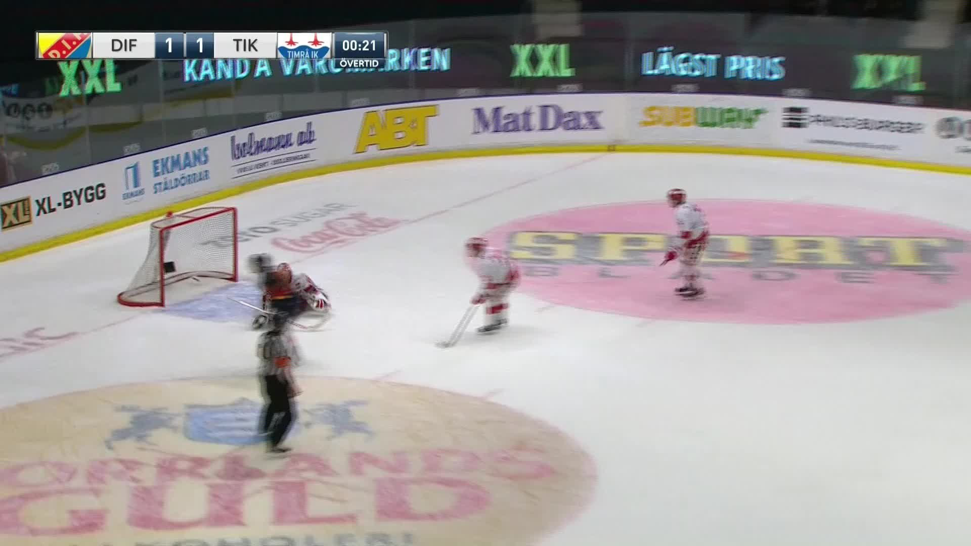 Djurgården Hockey - Timrå IK 2-1
