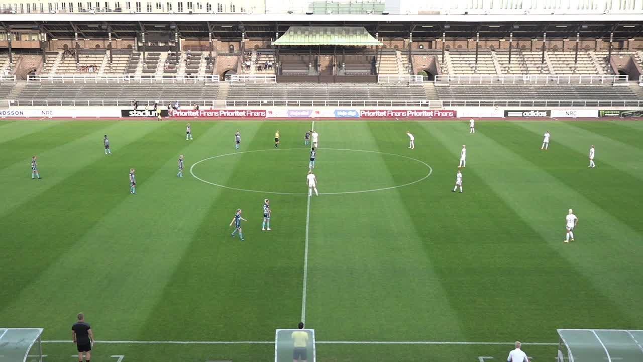 Highlights: Djurgården - Rosengård 17 aug