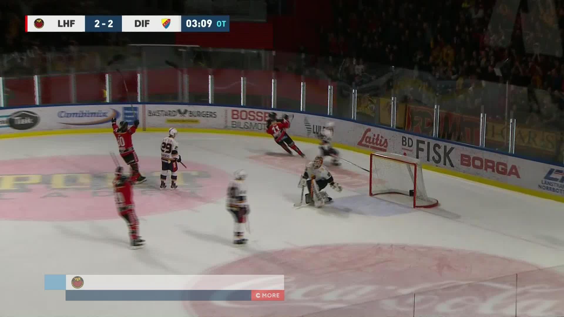 Luleå Hockey - Djurgården Hockey 3-2