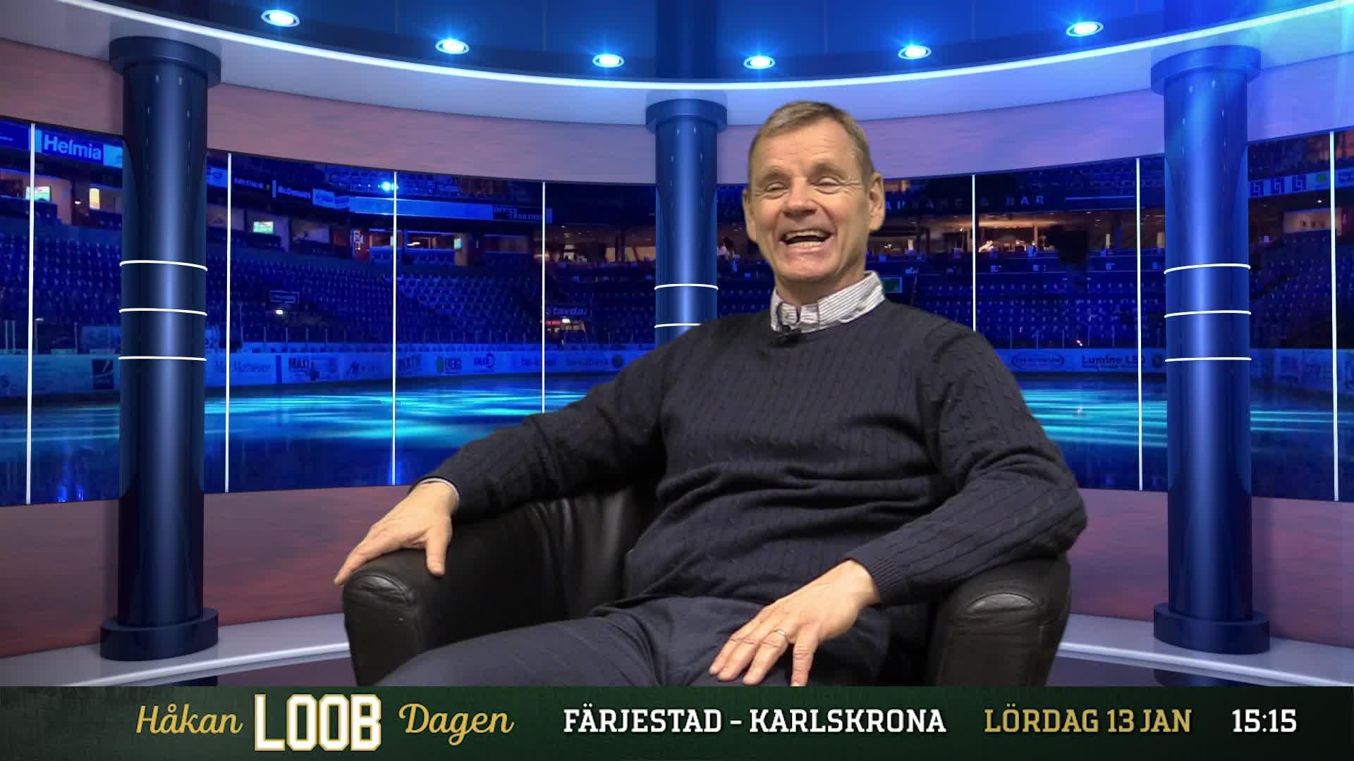 En halvtimme med Håkan Loob
