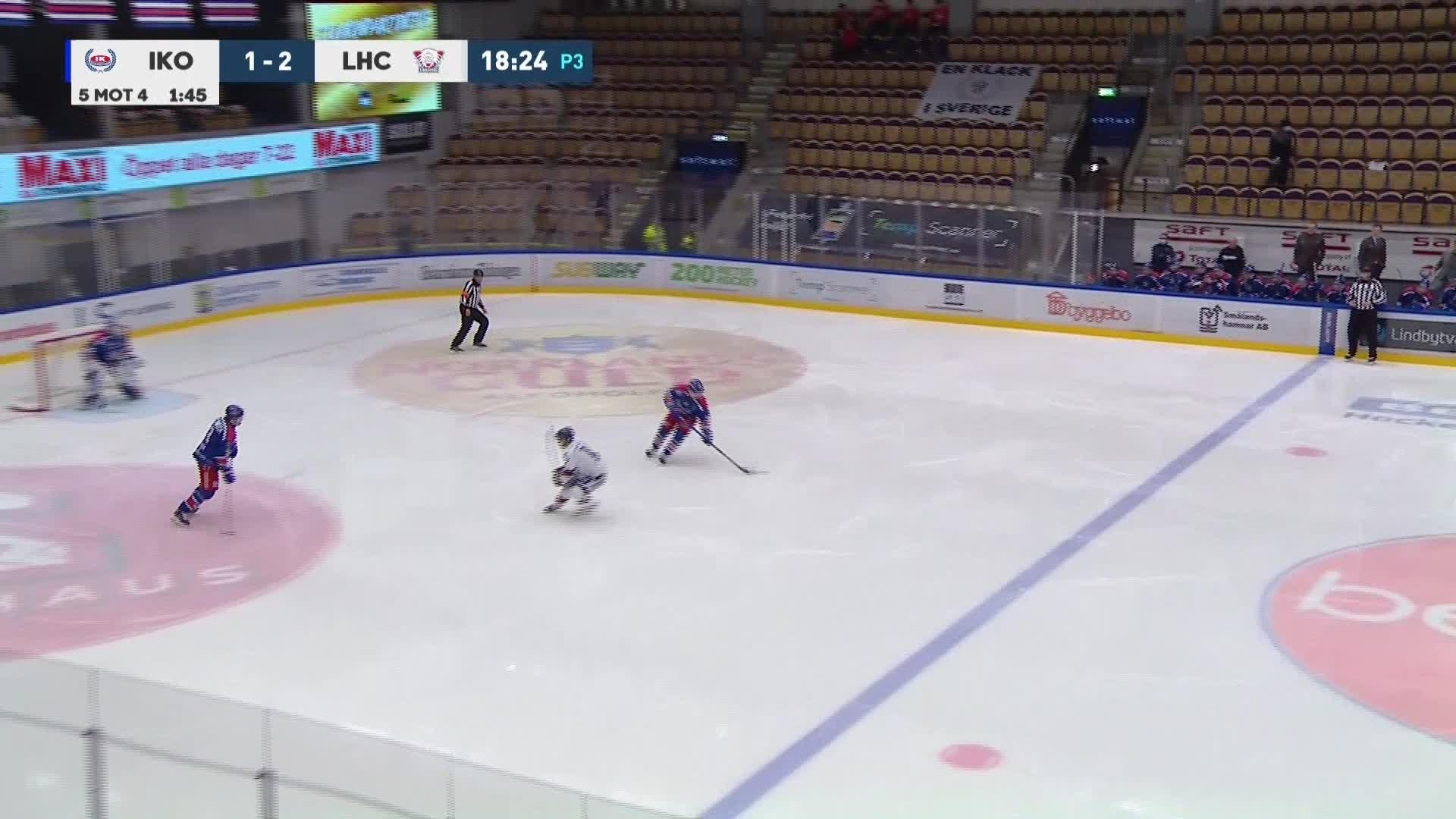 IK Oskarshamn - Linköping HC 1-3
