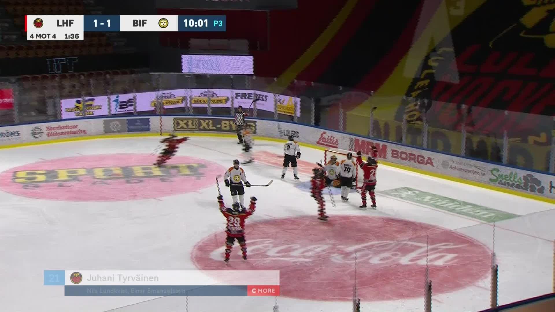 Luleå Hockey - Brynäs IF 2-1