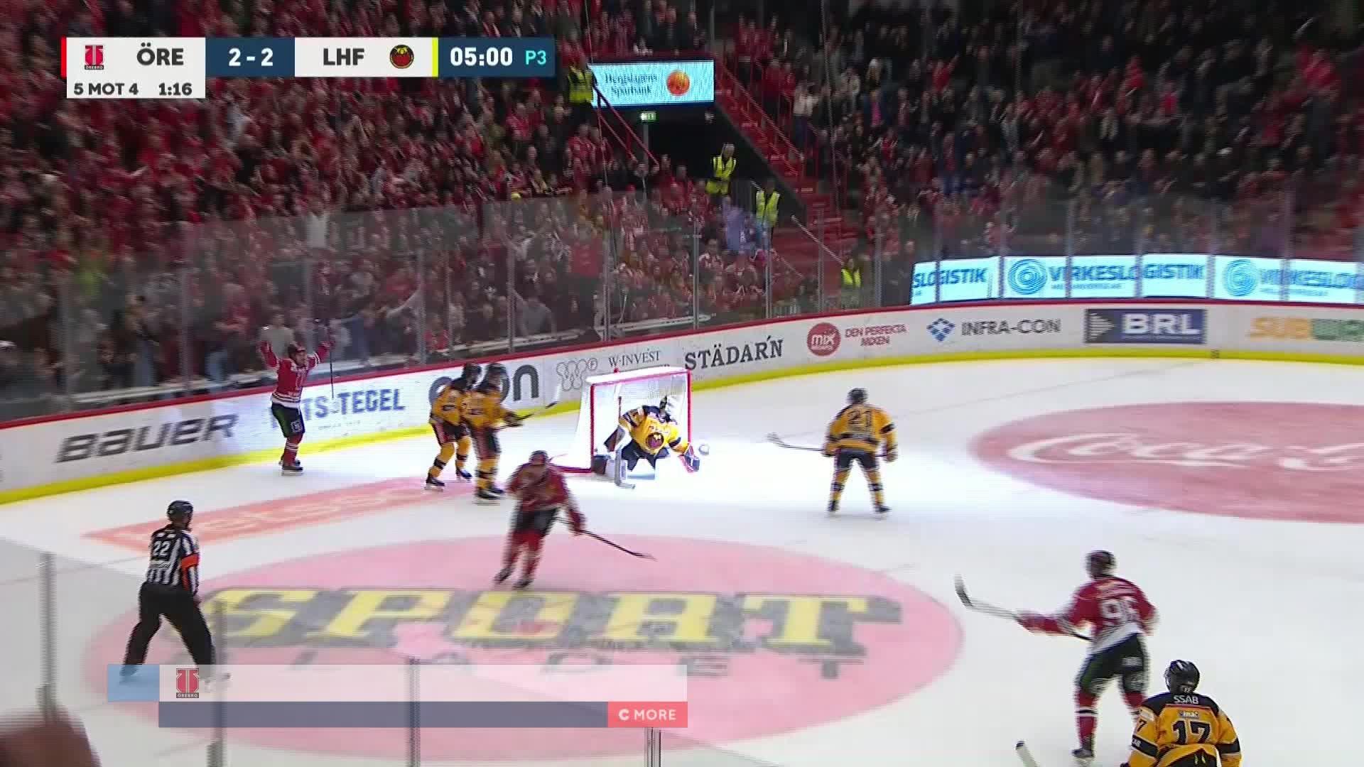 Örebro Hockey - Luleå Hockey 3-2