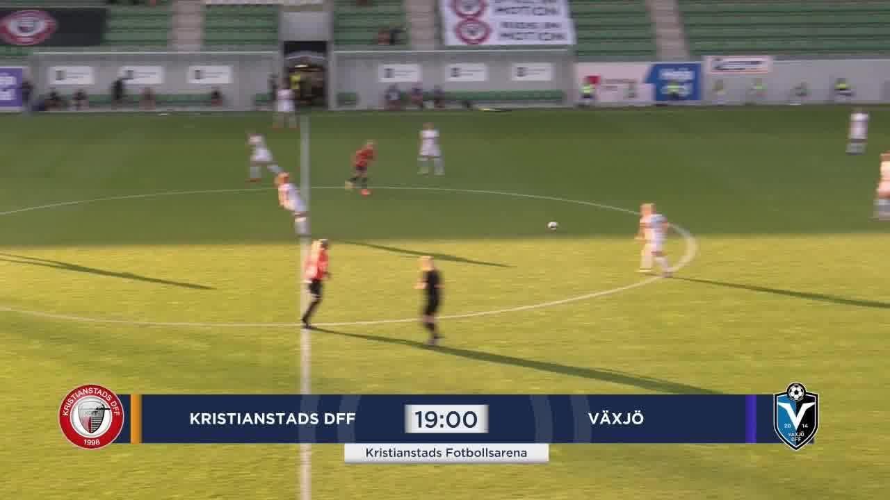 Highlights: Kristianstad - Växjö 12 aug
