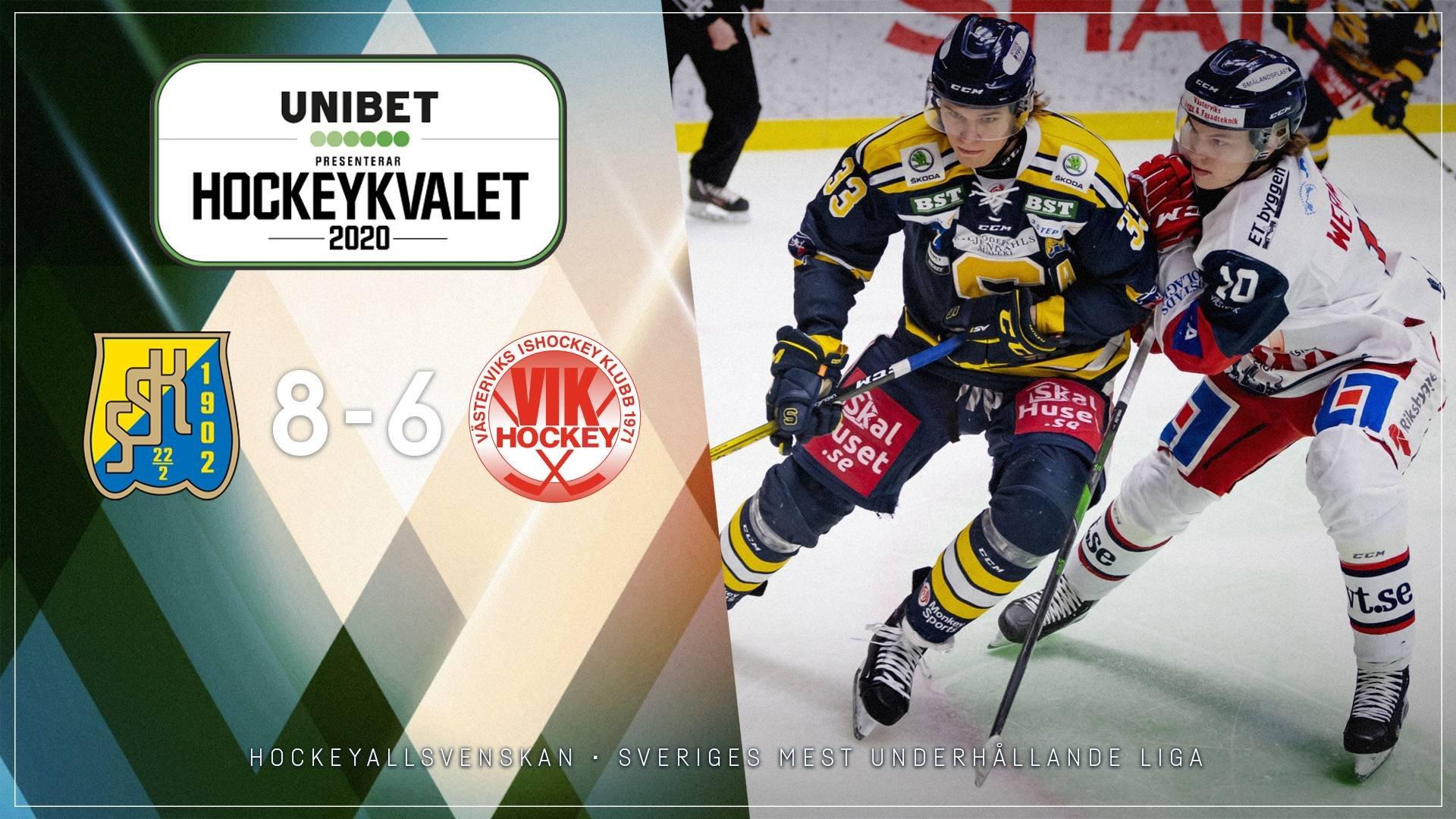 2020-03-11 Södertälje - Västervik 8-6